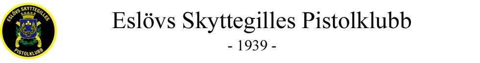 Eslöv Skyttegilles Pistolklubb Logo